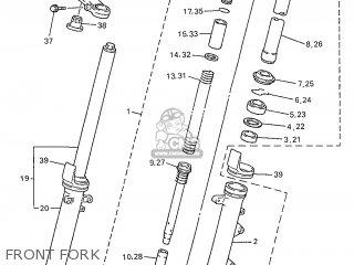 Yamaha XJ600N 1997 4KA4 GERMANY 274KA-332G1 parts lists