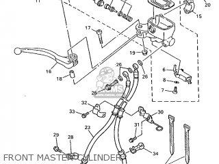 Yamaha Xj600n 1998 4ke9 England 284ke-300e1 parts list