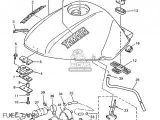 Yamaha XJ600N 1998 4KE9 GREECE 284KE-300E1 parts lists and