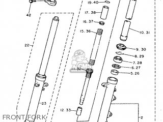 Yamaha XJ600S 1992 4BR1 EUROPE 224BR-300E2 parts lists and