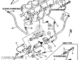 Yamaha XJ600S 1992 4DG1 EUROPE 224BR-300E2 parts lists and