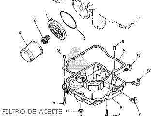 Yamaha XJ600S 1993 4BR4 SPAIN 234BR-352S2 parts lists and
