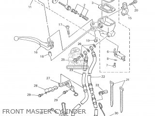 Yamaha XJ600S 2000 4LX7 GERMANY 104BR-332G1 parts lists