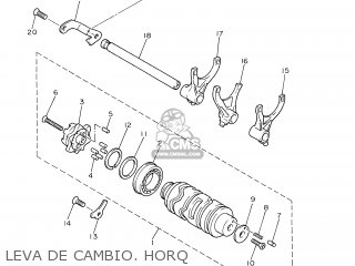 Yamaha XJ600S 2002 4LX9 SPAIN 1A4BR-352S1 parts lists and