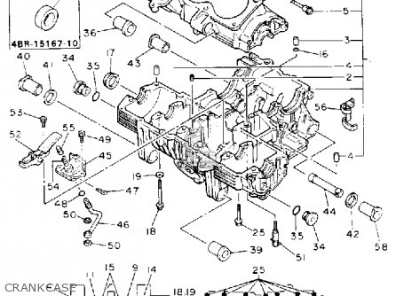 Yamaha XJ600S SECA II 1993 (P) USA parts lists and schematics