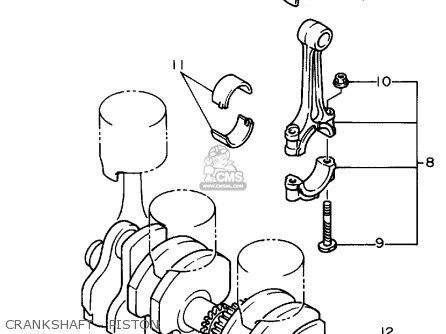 Yamaha XJ600S SECA II 1994 (R) USA parts lists and schematics