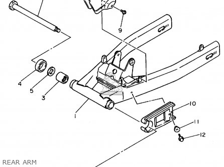 Yamaha Xj600s Seca Ii 1994 (r) Usa parts list partsmanual