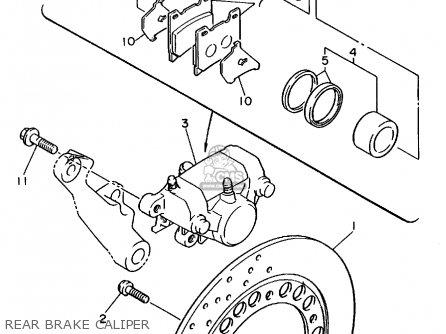 Yamaha Xj600s Seca Ii 1994 (r) Usa parts list partsmanual partsfiche