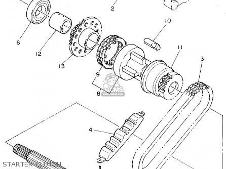 Yamaha XJ600S SECA II 1995 (S) USA parts lists and schematics