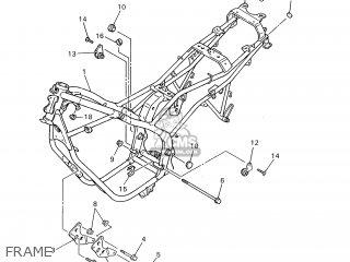 Yamaha XJ600S'97 1997 4BRC HOLLAND 174BR-300E1 parts lists