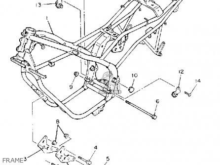 Yamaha Xj600se Seca Ii 1993 parts list partsmanual partsfiche
