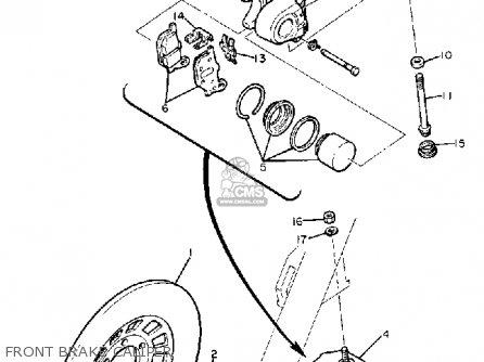 Yamaha Xj650 Maxim 1980 (a) Usa parts list partsmanual
