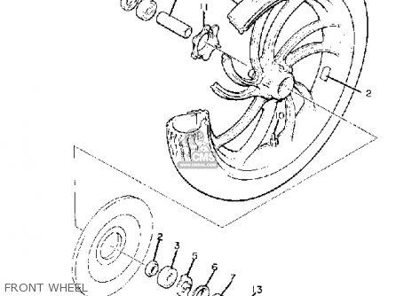 Yamaha XJ650 MAXIM 1982 (C) USA parts lists and schematics