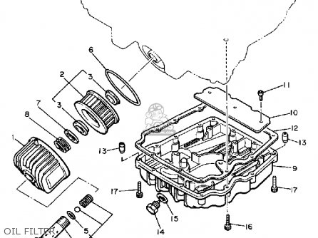 Yamaha XJ650L MAXIM 1982 (C) USA parts lists and schematics