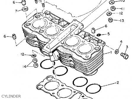 Yamaha XJ650L MAXIM 1983 (D) USA parts lists and schematics