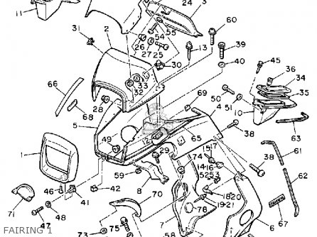 1983 Yamaha Maxim Wiring Diagrams