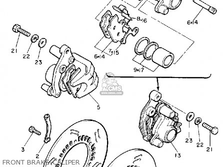 Yamaha XJ650L MAXIM 1983 (D) USA parts lists and schematics