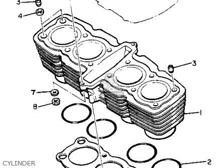 1981 Yamaha 650 Maxim Engine 1981 Yamaha XS650 Wiring