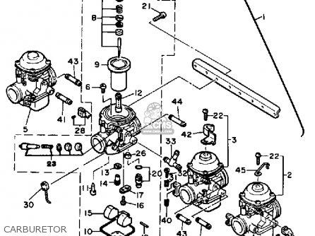 Yamaha Xj650lj 1982 parts list partsmanual partsfiche