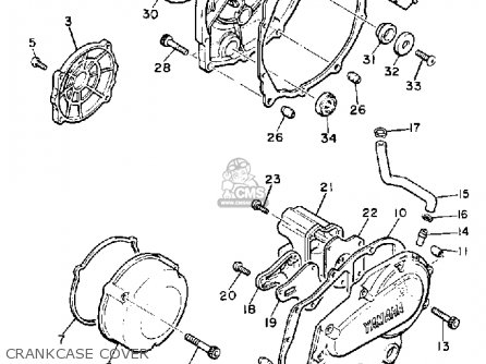 Yamaha Xj650lk 1983 parts list partsmanual partsfiche