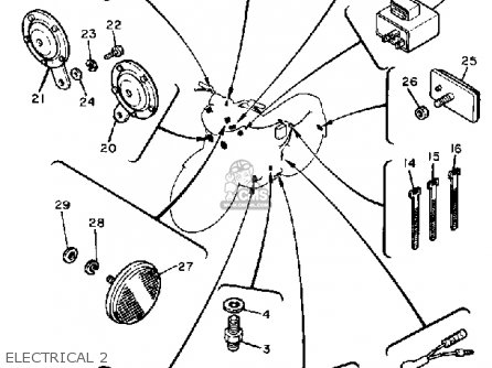 1982 Xj650 Wiring Diagram Dt250 Wiring Diagram Wiring