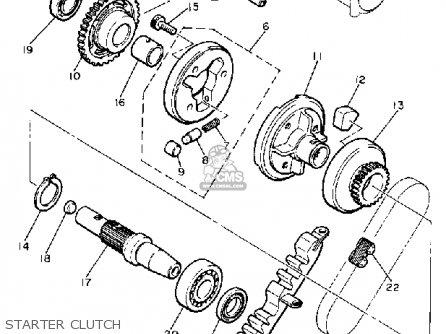 Yamaha Xj650rj Seca 1982 parts list partsmanual partsfiche