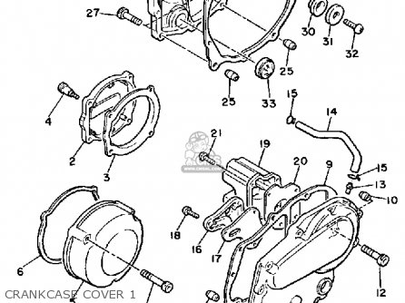 Yamaha XJ700 MAXIM 1985 (F) USA parts lists and schematics