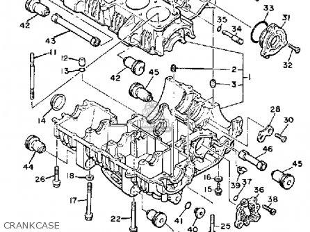 Yamaha XJ700 MAXIM 1985 (F) USA parts lists and schematics