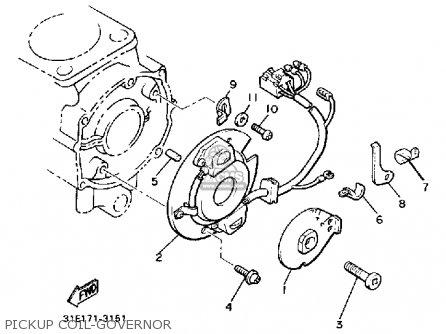 Yamaha Xj700n Maxim 1985 parts list partsmanual partsfiche