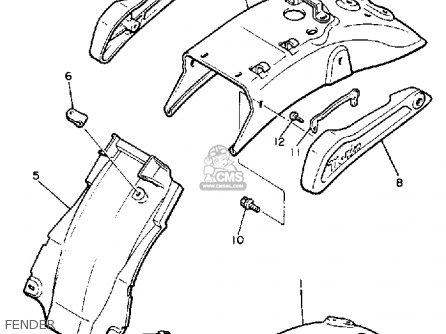 Yamaha Xj700sc Maxim 1986 parts list partsmanual partsfiche