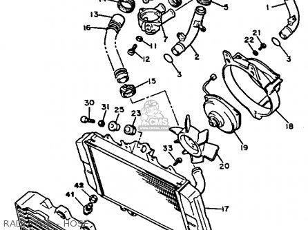 Yamaha XJ700XC MAXIM 1985 (F) CALIFORNIA parts lists and