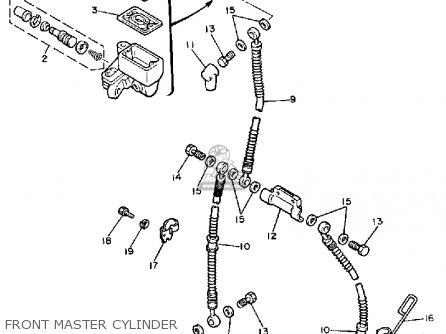Yamaha Xj700xc Maxim 1986 (g) California parts list