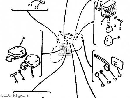 1982 Yamaha 750 Maxim Clutch Diagram 1982 Yamaha Rd 350