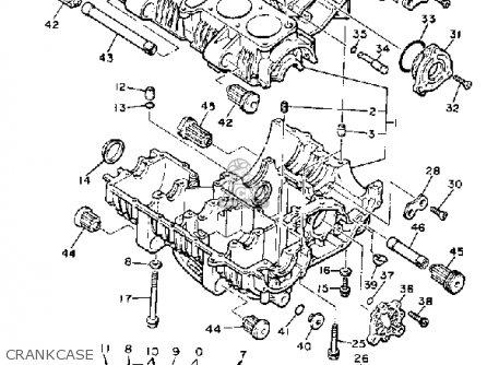 Yamaha XJ750M MIDNIGHTMAXIM 1983 (D) USA parts lists and