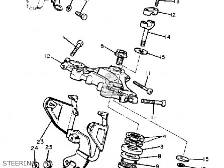 Yamaha Xj750r Seca 1981 (b) Usa parts list partsmanual