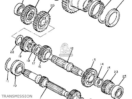 Yamaha XJ750R SECA 1981 (B) USA parts lists and schematics