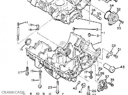 Yamaha XJ750R SECA 1982 (C) USA parts lists and schematics