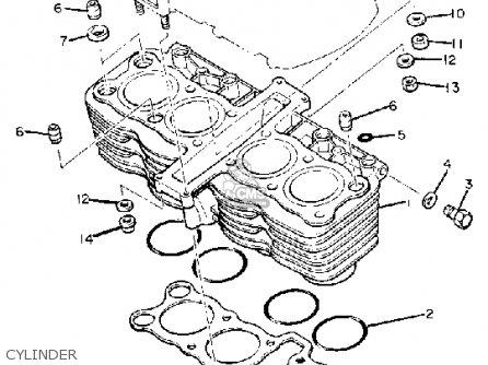 Yamaha XJ750R SECA 1982 (C) USA parts lists and schematics