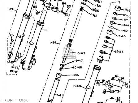 Yamaha Xj750r Seca 1983 (d) Usa parts list partsmanual