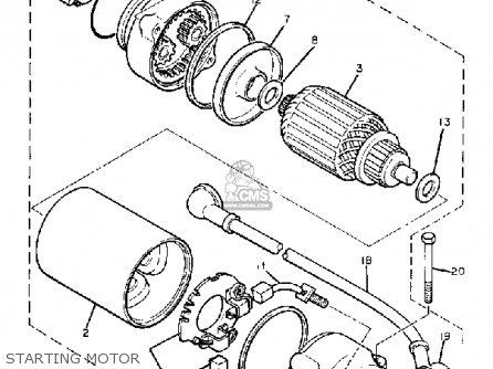 Yamaha XJ750R SECA 1983 (D) USA parts lists and schematics