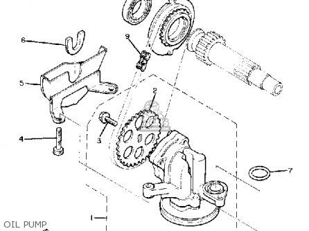 Yamaha Xj750rj Seca 1982 parts list partsmanual partsfiche