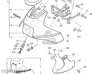 Yamaha Xj900f 1989 3ng1 France 293ng-351f1 parts list