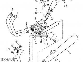 Yamaha Xj900f 1992 4bb2 France 224bb-351f2 parts list