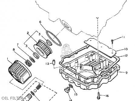 Yamaha XJ900R SECA 1983 (D) USA parts lists and schematics