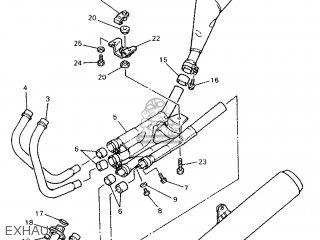 Yamaha XJ900S 1995 4KM1 EUROPE 254KM-300E1 parts lists and