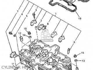 Yamaha XJR1200 1995 4PU1 GERMANY 254PU-332G2 parts lists