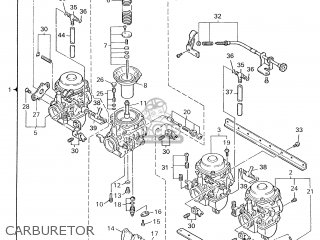 Yamaha Xjr1300 2000 5eab France 105ea-351f1 parts list