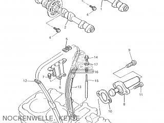 Yamaha XJR1300 2001 5EAH GERMANY 115EA-332G1 parts lists