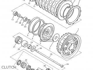 Yamaha XJR1300 2001 5EAJ DENMARK 115EA-300E1 parts lists