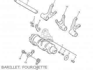 Yamaha XJR1300 2001 5EAJ FRANCE 115EA-351F1 parts lists